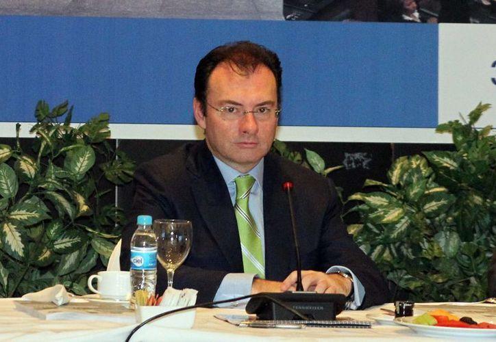Videgaray dijo que será respetuoso del trabajo del Poder Legislativo. (Notimex)