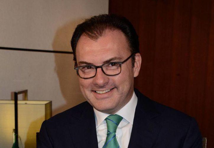 Videgaray aseguró a The Wall Street Journal que liquidó el crédito hipotecario 'tan pronto como pudo'. (Archivo/Notimex)