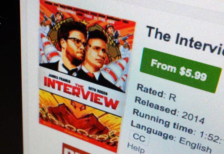 Th Interview se puede ver en varias plataformas de internet. (AP)