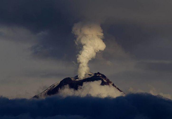 Imagen del volcán Tungurahua de Ecuador. (Archivo/EFE)