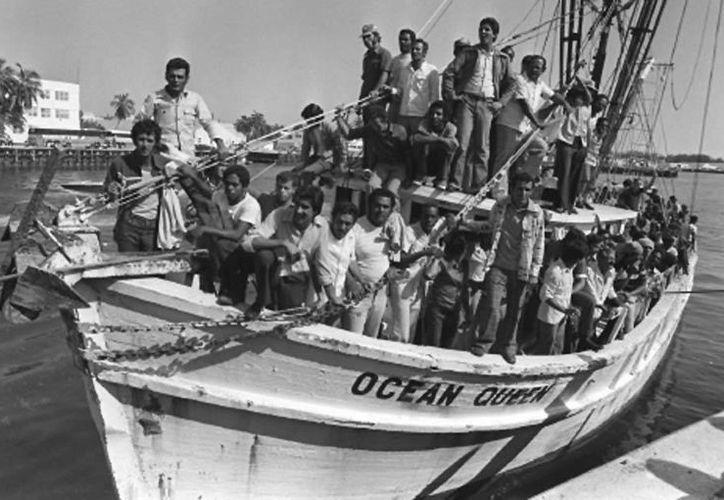 En el llamado puente de Mariel llegaron a EU más de 125 mil cubanos. (universoincreible.com)