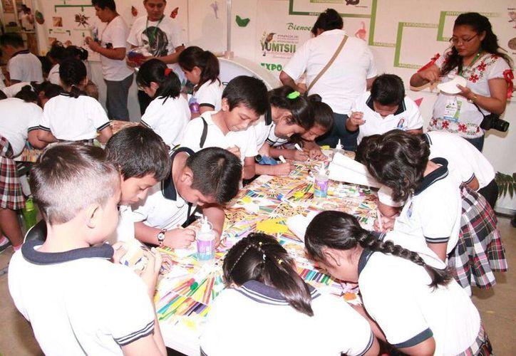 Este viernes se inauguró en Mérida la II Expo Foro Ambiental, en la que habrá sesiones de educación para niños. (Jorge Acosta/SIPSE)