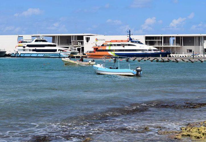 La Apiqroo inició un censo de las embarcaciones que están en la rada de Cozumel. (Gustavo Villegas/SIPSE)