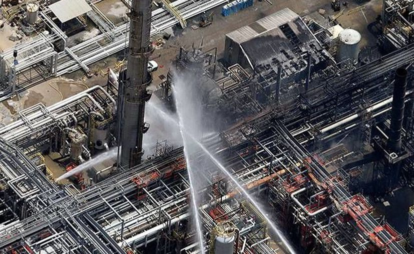 El pasado 13 de junio una fuerte explosión, seguida por un incendio, se registró en una planta química en Geismar. (Agencias)