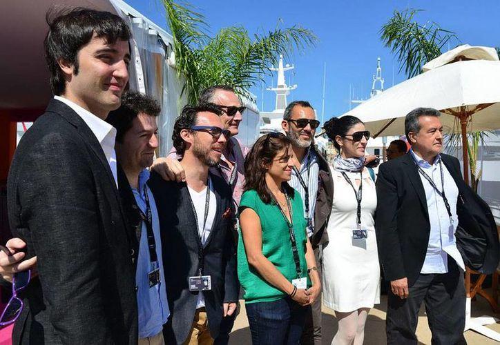 Un grupo de representantes de 5 productoras mexicanas presidieron  el foro de coproducción internacional del 67o Festival de Cine de Cannes. (Notimex)