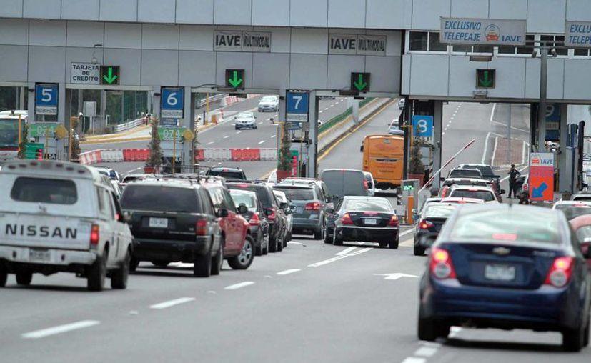 En la imagen la caseta de la autopista México-Cuernavaca, una de las de mayor tráfico vehicular, ya que es la salida a Acapulco. (Notimex)