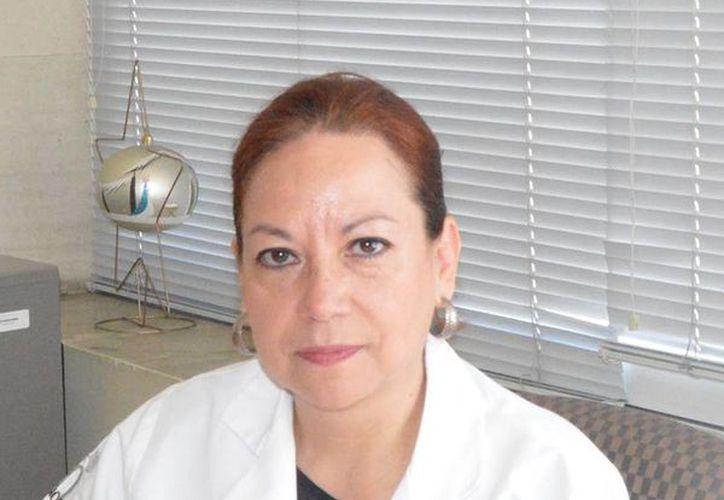 Josefina Gutiérrez Martínez, subdirectora de Investigación Tecnológica del Instituto Nacional de Rehabilitación (INR). (Conacyt Prensa)