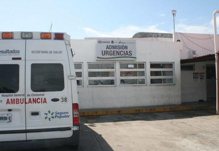 El muchacho de 17 años herido por un policía en Bacalar hace 19 días, falleció ayer en Chetumal. (Redacción/SIPSE)