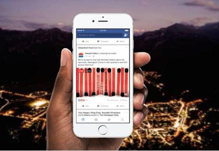 La herramienta estará disponible para páginas de noticias en un inicio. (Facebook)
