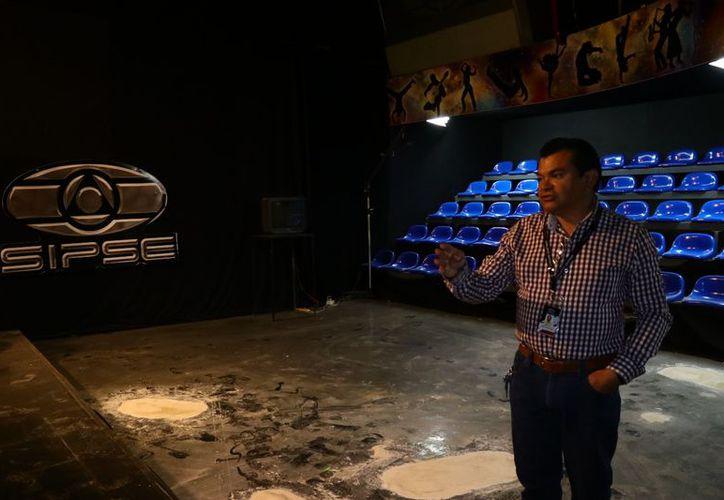 Las instalaciones de SIPSE Televisión cubren todas  las necesidades para realizar el debate de candidatos a la gubernatura de Yucatán.  (Milenio Novedades)