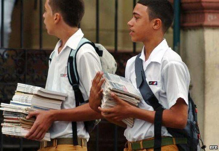 Una vez concretada la primera venta de pruebas, los propios estudiantes se dedicaron a revenderlas. (martinoticias.com)