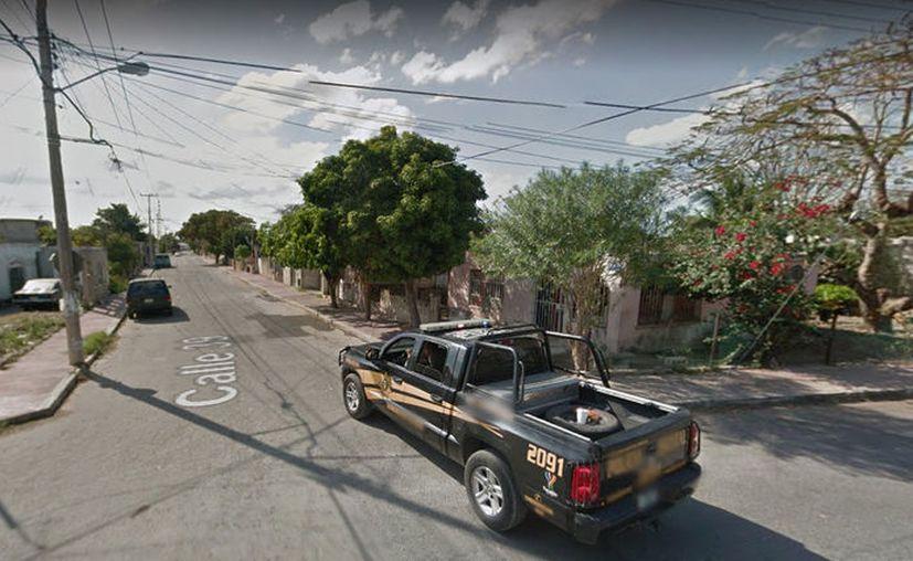 La tragedia se presentó en la calle 39 de la colonia El Roble, en el sur de Mérida. (Google Maps)