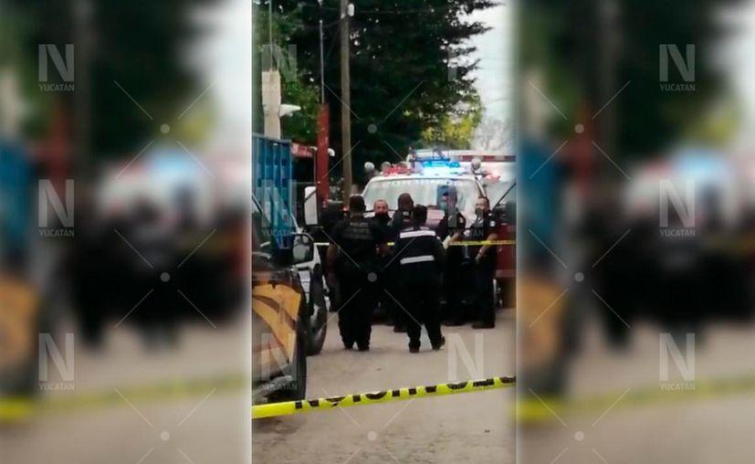 """Los trabajadores Freddy """"N"""" de 55 años y Julio Armando """"N"""" de 32 años murieron al caer a un sumidero. (Novedades Yucatán)"""