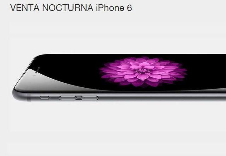 El nuevo teléfono inteligente y la teléfono-tableta estarán a la venta en México las primeras horas del 31 de octubre, fecha oficial anunciada por Apple. (Captura de pantalla/telcel.com)