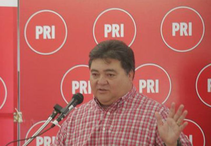 Flota Alcocer aseguró que los candidatos del PRI no participarán por razones de estrategia. (Harold Alcocer/SIPSE)