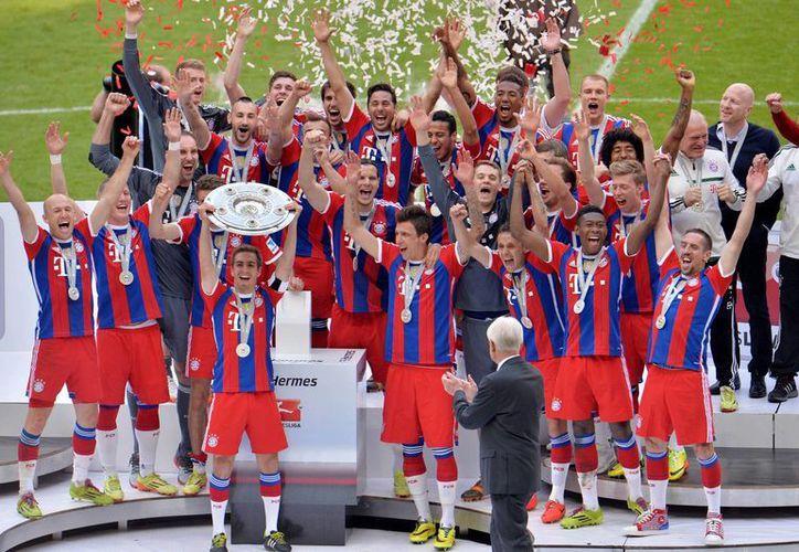 Bayern ya es bicampeón de liga y a partir de la semana próxima disputará la final de la Copa de Alemania ante el Borussia. (Foto: AP)