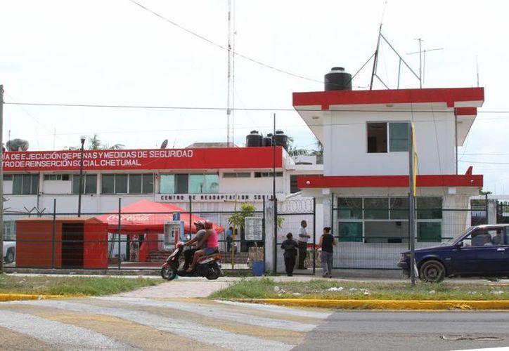 El año pasado se registraron 10 riñas cuatro motines, un evento de desorden  y cinco quejas presentadas ante Derechos Humanos. (Ángel Castilla/SIPSE)