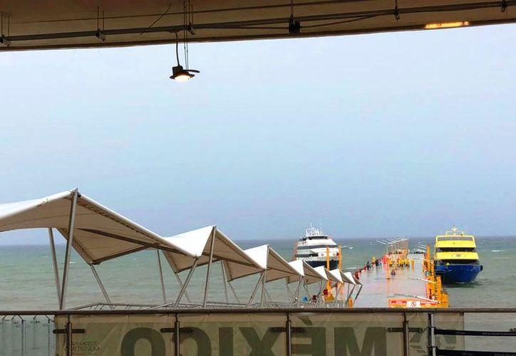 Realizan revisiones de estructura en ferrys de manera preventiva por temporada de huracanes. (Daniel Pacheco)