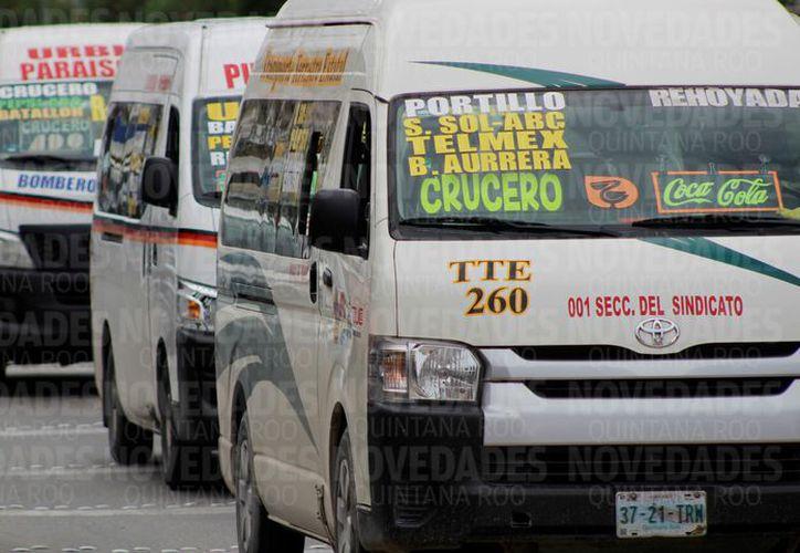 Ahora la prioridad será monitorear las unidades de transporte sin tener patrullas de Sintra en las calles. (Foto: Jesús Tijerina/SIPSE).
