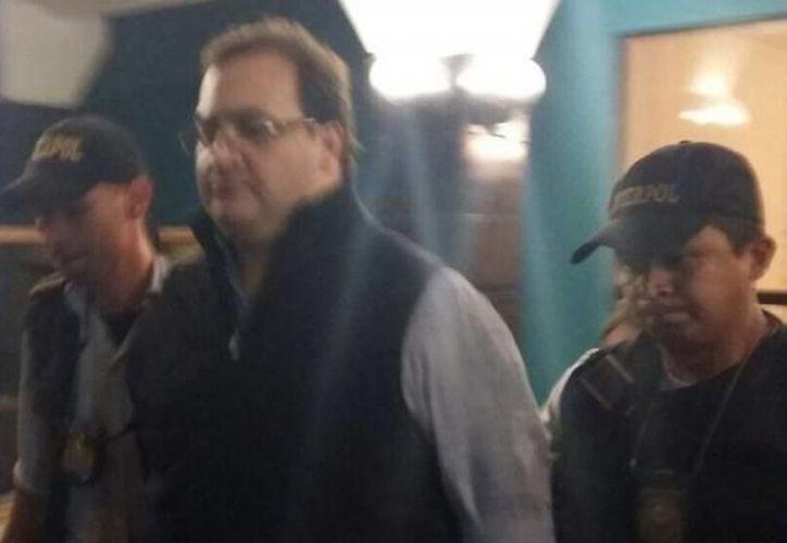Javier Duarte de Ochoa fue localizado y detenido con fines de extradición en el Municipio de Panajachel. (Foto: Internet/Contexto)