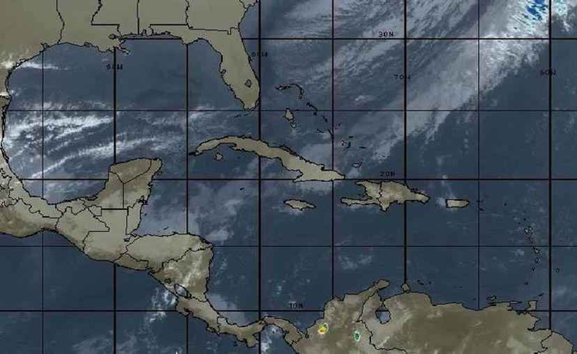 El pronóstico del clima de Cancún señala lluvias y frío para este fin de semana. (Intellicast)