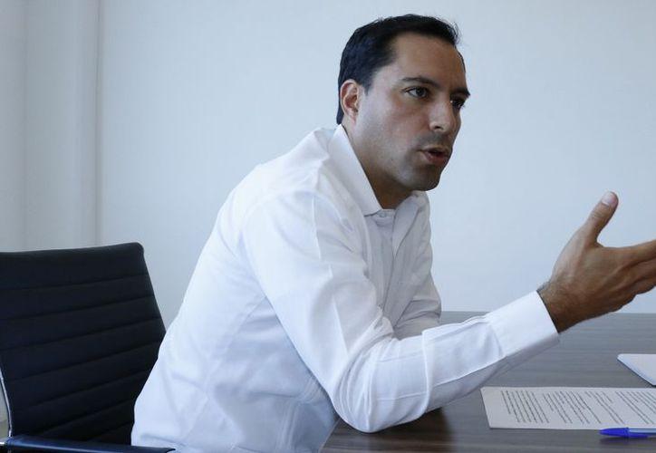 En Palacio de Gobierno, Mauricio Vila tomará protesta a su gabinete. (José Acosta/ Milenio Novedades)