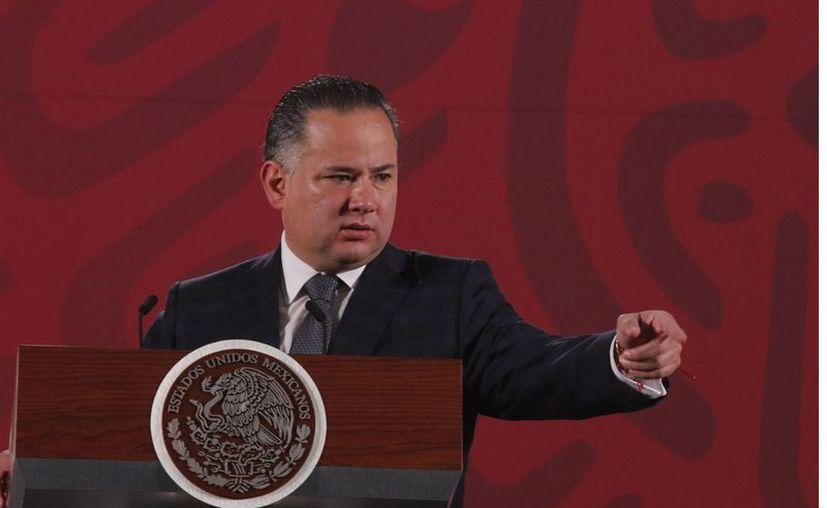 Santiago Nieto, titular de la UIF, dijo que se presentarán las denuncias que sean necesarias. (Agencia Reforma)