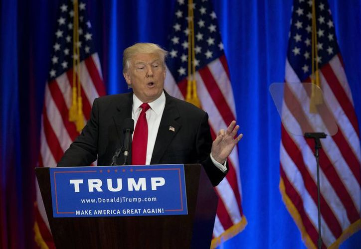 No es la primera vez que se acusa a Donald Trump de abuso sexual. (AP)