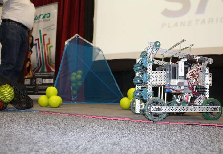 Hoy se llevará a cabo la tercera fase regional del Torneo Mexicano de Robótica. (Adrián Barreto/SIPSE)