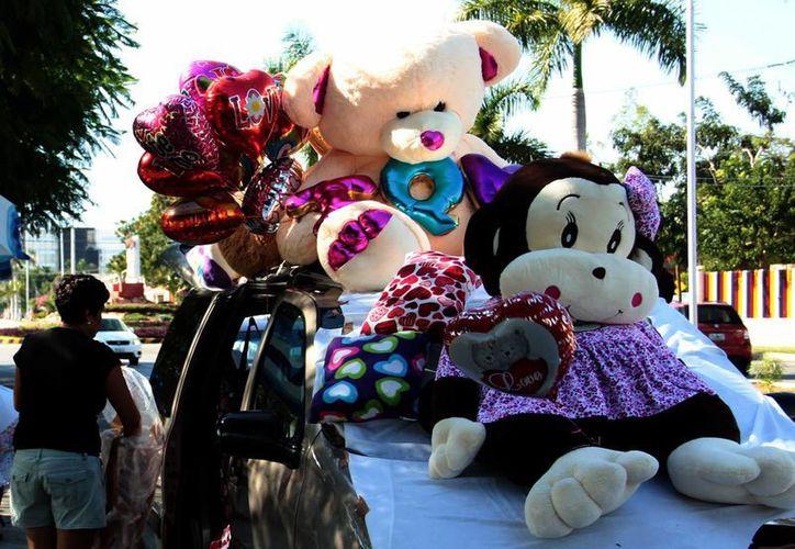 Las transacciones por el Día del Amor ascendieron a unos 475 millones de pesos el 14 de febrero de 2016, mientras que esta vez fueron de 500 mdp. (SIPSE)