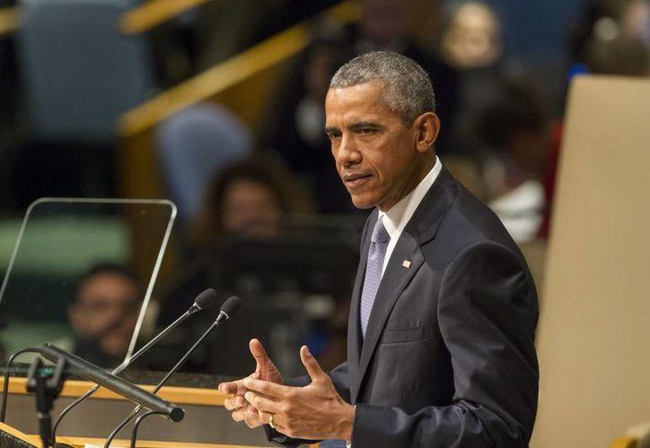 El presidente de Estados Unidos, Barak Obama, espera visitar Cuba durante su último año en la Casa Blanca, pero solo 'si las condiciones se dan' y en especial si le es permitido reunirse con disidentes. (Notimex)