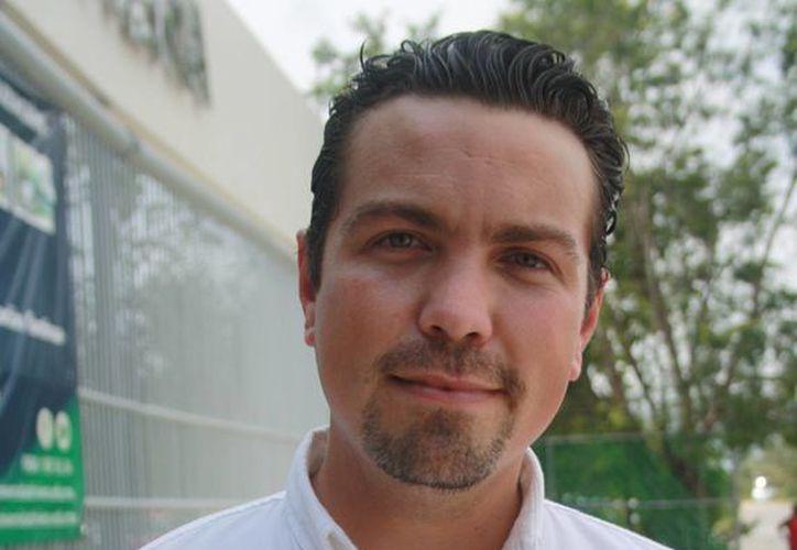 Gilberto Aragón Flores, presidente de la organización México Nuevo. (Octavio Martínez/SIPSE)