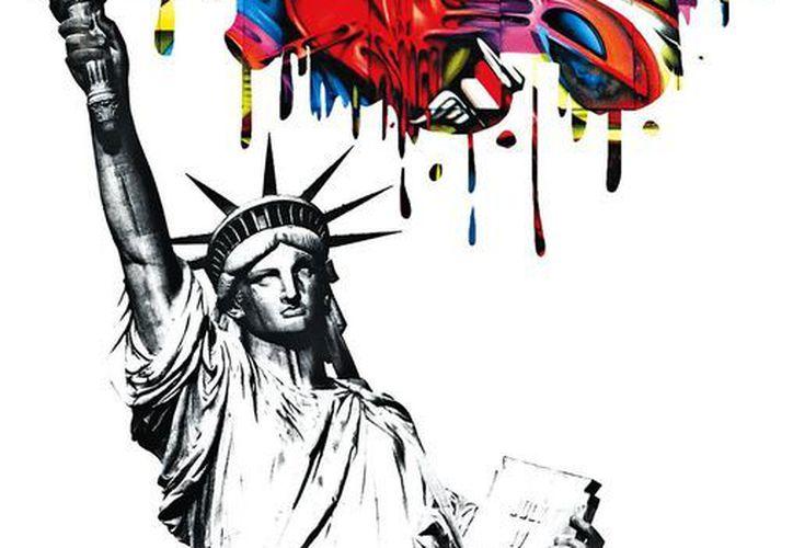 """'En esencia el grafiti es un movimiento que busca ser visible grupos que están marginados en Estados Unidos, guetos, gente de color, que busca tener mayor participación y que en algún sentido busca tener un poco de voz"""", dice Fémur. (Milenio)"""