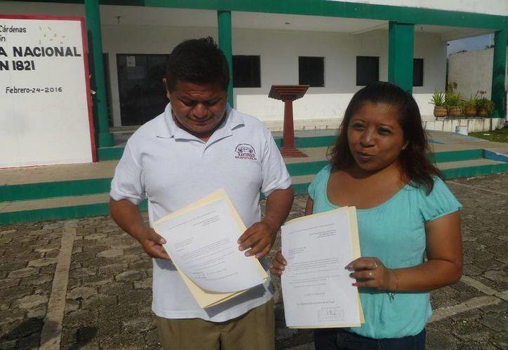 Los habitantes organizaron un comité para tratar los problemas con el Ayuntamiento. (Raúl Balam/SIPSE)