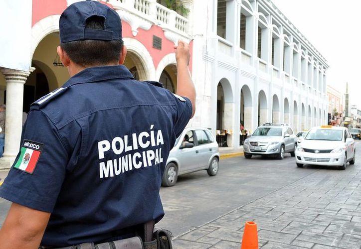 El Ayuntamiento de Mérida autorizó el libre tránsito vehicular en el Centro durante los domingos del mes de diciembre. (José Acosta/SIPSE)