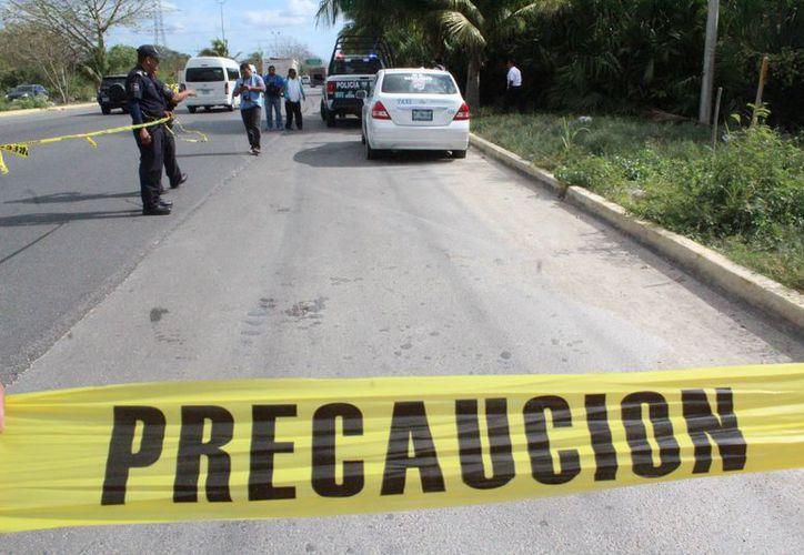 El taxista Diego N, murió estrangulado por sus victimarios. (Redacción/SIPSE).