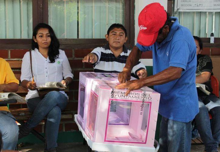 El INE teme que el proceso electoral en puerta tenga menos participación ciudadana. (Redacción/SIPSE)