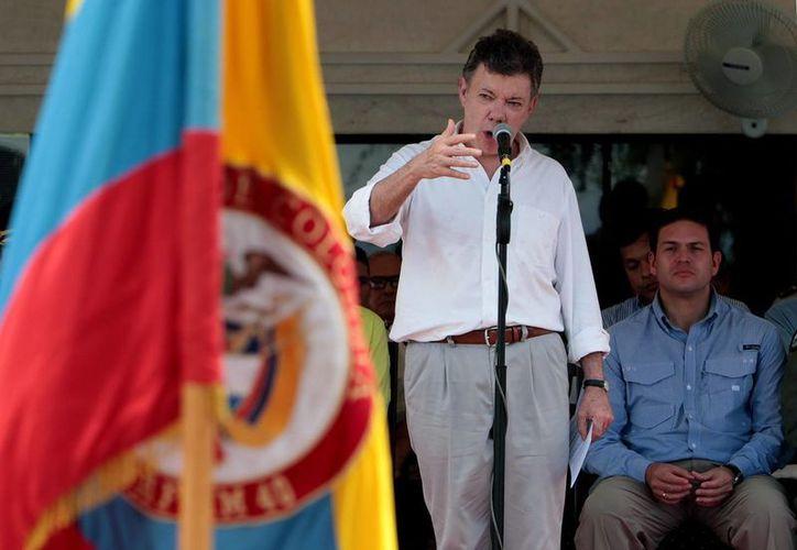 El presidente de Colombia, Juan Manuel Santos. (Archivo/EFE)