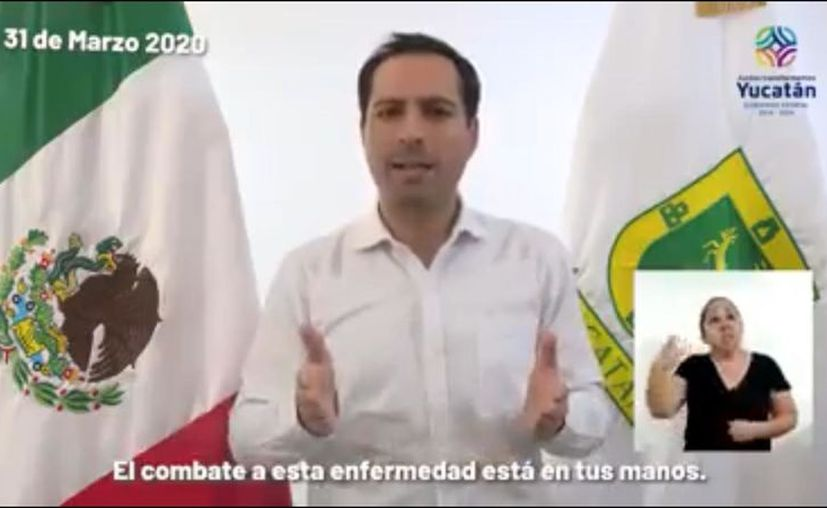 Nuevas medidas tomadas por el gobernador Mauricio Vila. (Especial)