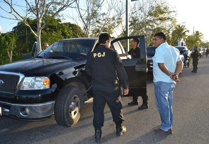 El 30 por ciento de las quejas son contra agentes policíacos de las diferentes corporaciones. (Harold Alcocer/SIPSE)