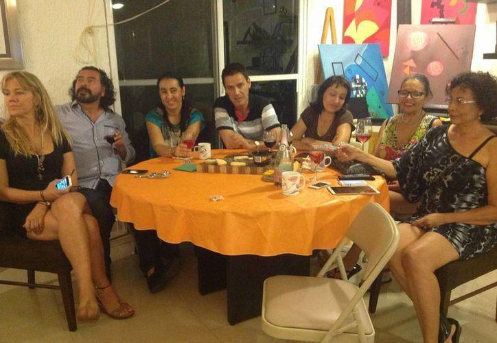Integrantes del diplomado se dieron cita el pasado fin de semana para disfrutar del arte. (Faride Cetina/SIPSE)