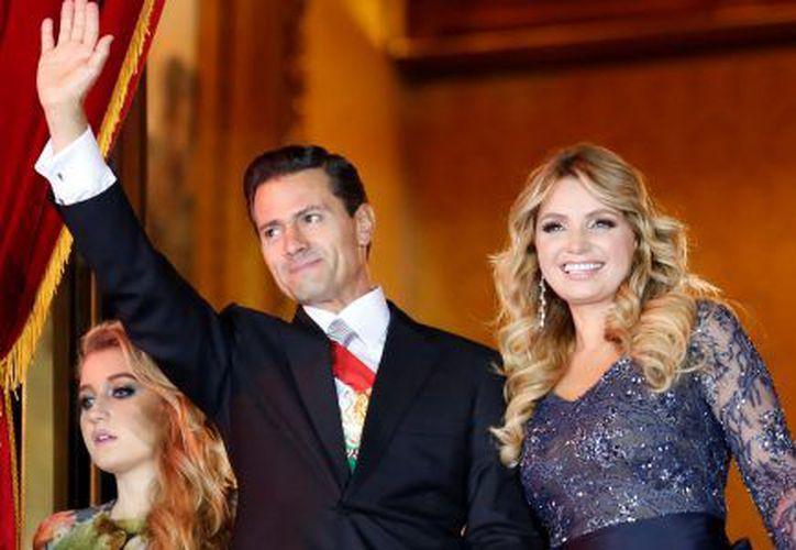 El 1 de diciembre de 2012 Peña Nieto asumió la presidencia de México y Rivera se convirtió en la primera dama del país. (Internet)