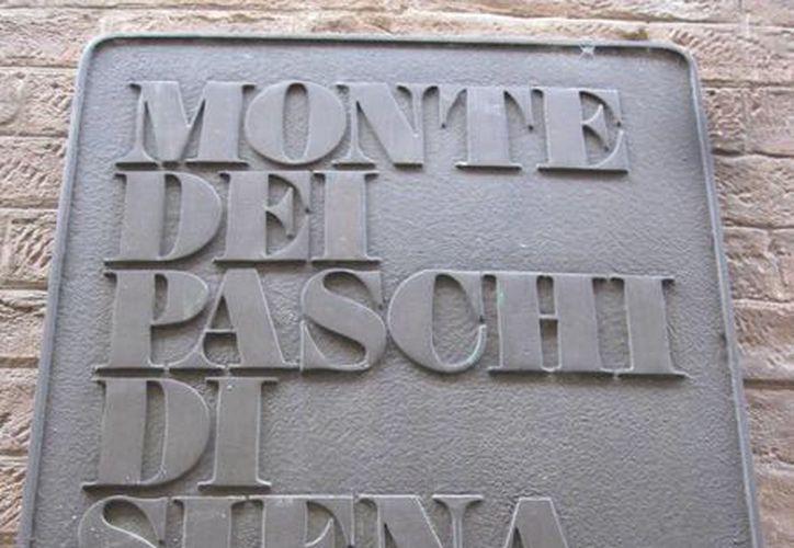 """El Banco Monte dei Paschi di Siena está inmerso en un escándalo por un supuesto """"agujero"""", calculado en 720 millones de euros. (finanza.com)"""
