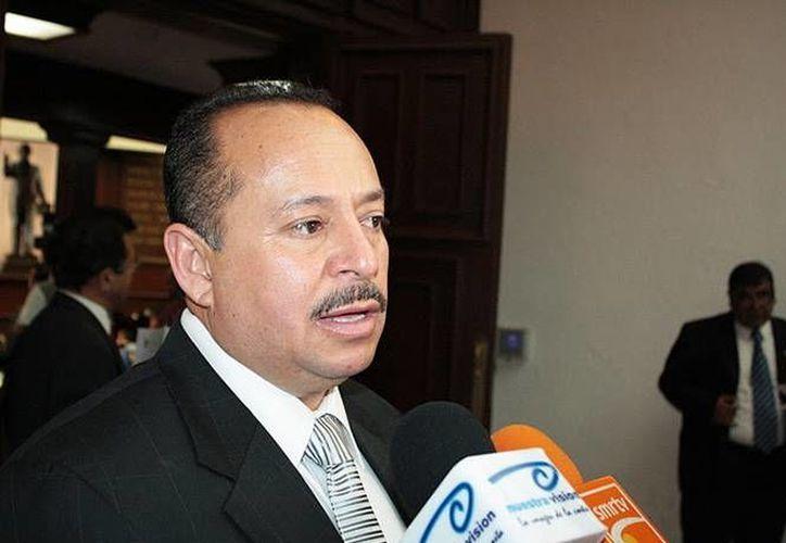 El líder transportista José Trinidad Martínez Pasalagua ya había sido detenido en abril de este año, tras darse a conocer un video donde presuntamente se reunió con 'La Tuta'. (Excélsior)