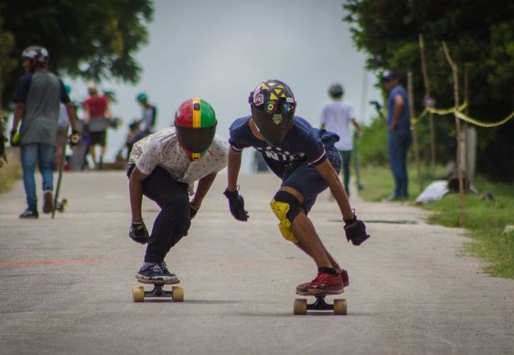 Dentro de los requisitos para participar esta que el patinador cuente con equipo de protección y cubrir la cuota de inscripción de $300. (Miguel Maldonado/SIPSE)
