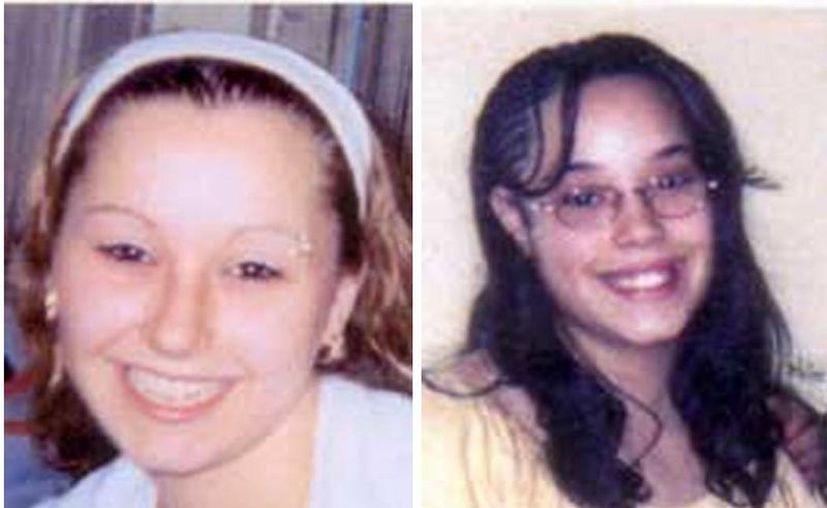 Amanda Berry (i) y Georgina De Jesús, dos de las mujeres halladas luego de una década. (Agencias)