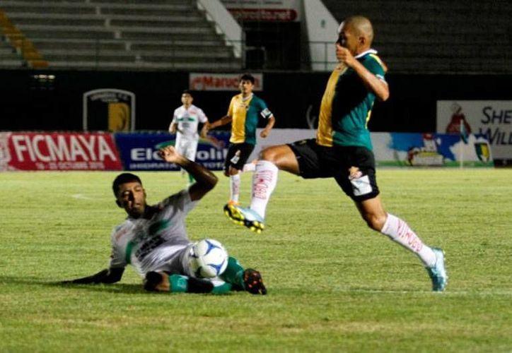 Venados FC Yucatán rescató, en el último minuto, un empate ante Cañeros de Zacatepec, en el Ascenso MX. (César González/SIPSE)