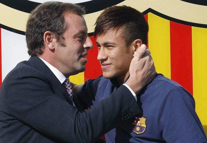 Rosell llegó a la presidencia del Barcelona en 2010 y logró fichar a Neymar en 2013. (EFE)