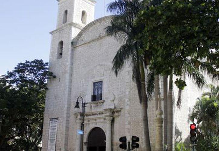 La iglesia de El Jesús. (Christian Ayala/SIPSE)