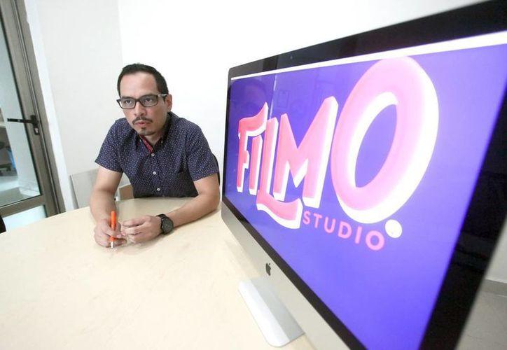 En Filmo, José Luis Llanes Vázquez encontró en el binomio de creatividad y educación la fórmula para el éxito de su proyecto y modelo de negocio. (Amílcar Rodríguez)